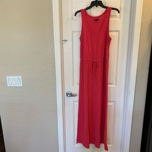 Gap Fuchsia Colored Maxi Dress